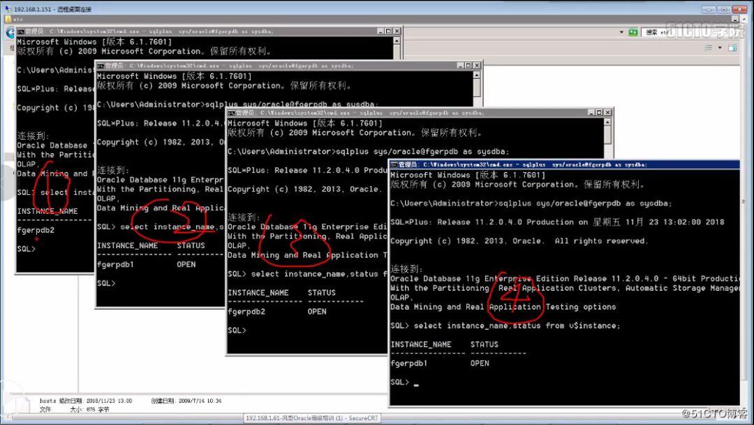 《Oracle RAC万能集群测试大全 支持11g/12c/18c/19c版本》